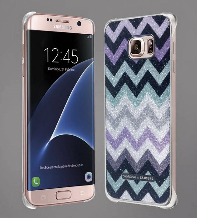 La nueva edición incorpora el modelo en color rosa del smartphone junto a una exclusiva funda Swarovski for Samsung.
