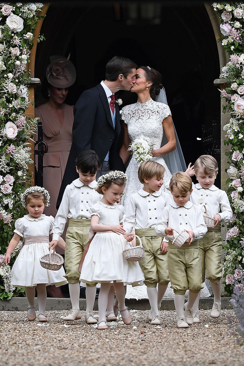 Los pajes de Pippa Middleton vistieron de la firma española Pepa & Co