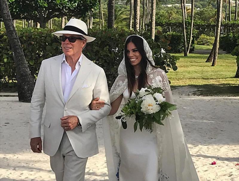 La boda en una isla privada a ritmo de Skrillex de la hija de Tommy Hilfiguer