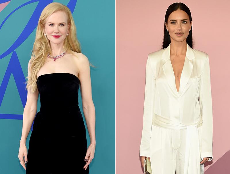 El día que Adriana Lima se puso a los pies de Nicole Kidman