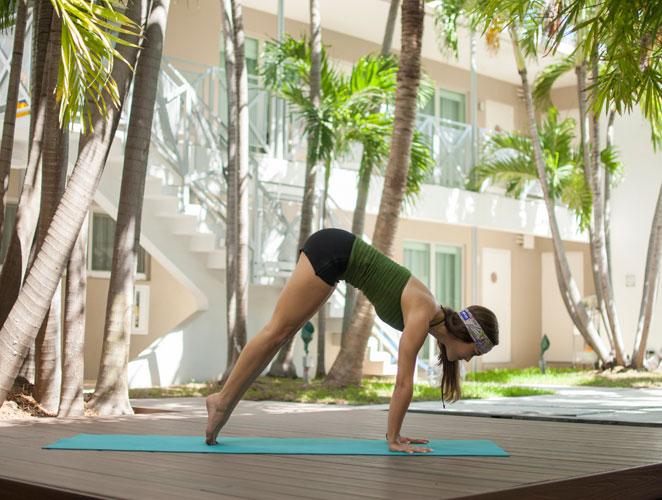 El yoga se adapta a ti, no tú al yoga.