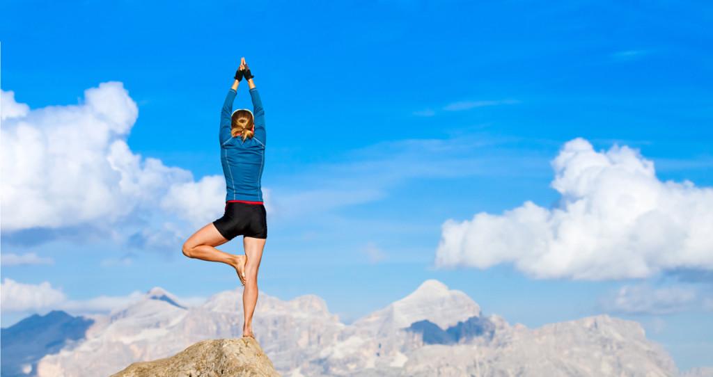 yoga montaña