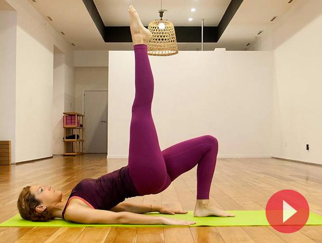Glúteos duros en seis minutos con estos ejercicios de pilates