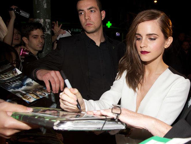 El día que conocí a Emma Watson (y solo pude hacerle una pregunta)