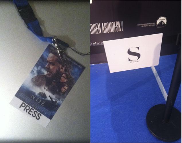 El rincón clave para encontrarnos con Emma Watson en el cine Palafox. Foto: Noel Ceballos