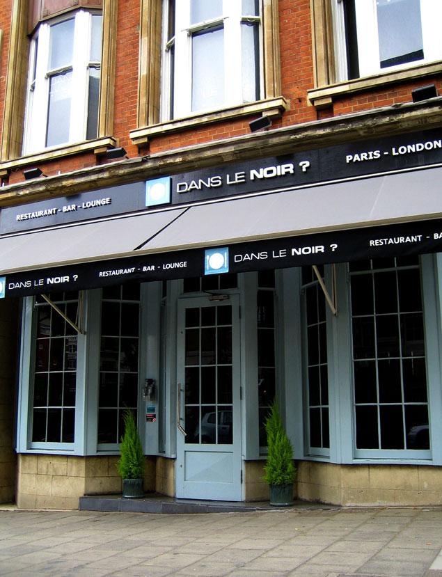 La fachada del restaurante londinense. Imagen vía: danslenoir.com